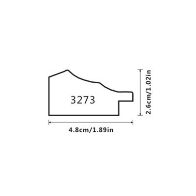 Пластиковый багет KI 4827-B12