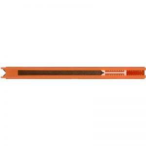 Оранжевый картридж со скобами 5мм