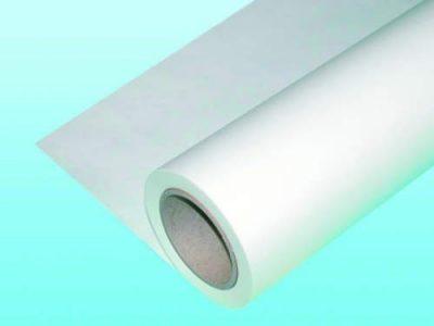 Бумага термоклеющая, 104 см х 100 м 104 см х 50 м